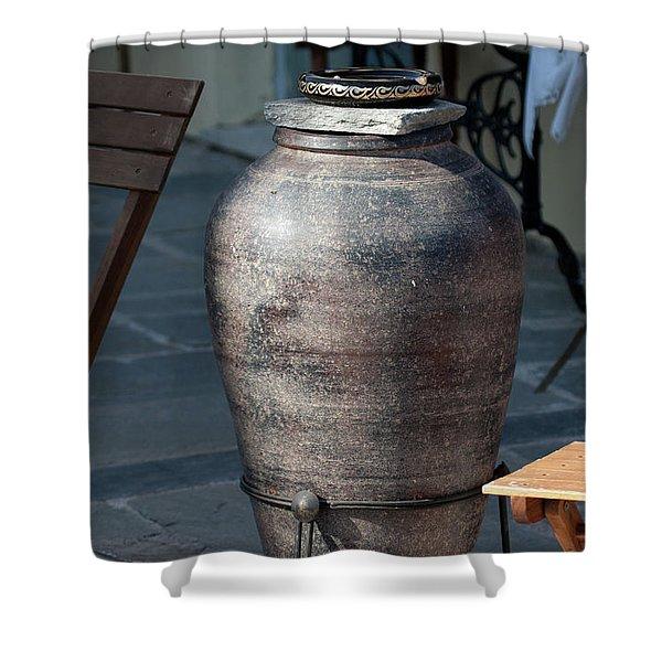 Jar Shower Curtain