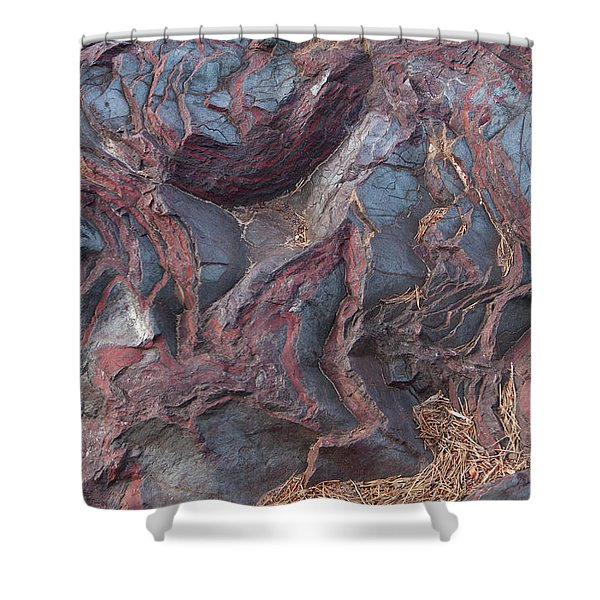 Jaspilite Shower Curtain