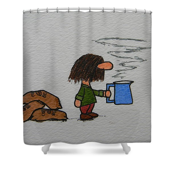 Java Shower Curtain