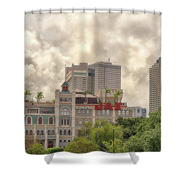 Jax Brewery Shower Curtain