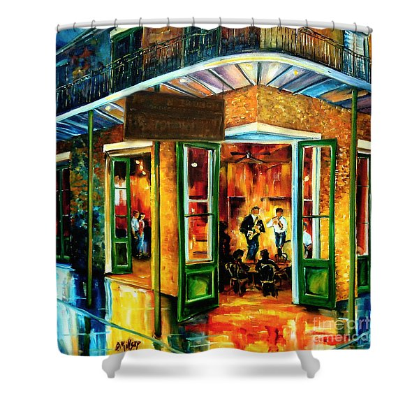 Jazz At The Maison Bourbon Shower Curtain