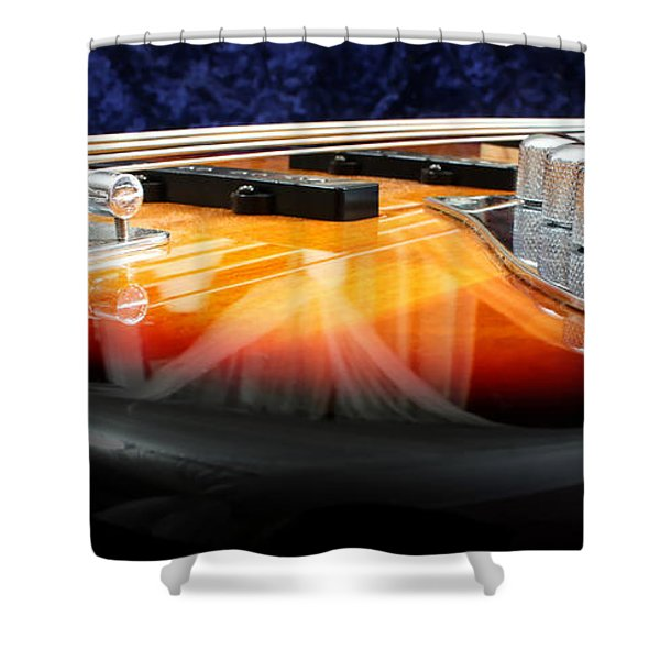 Jazz Bass Beauty Shower Curtain