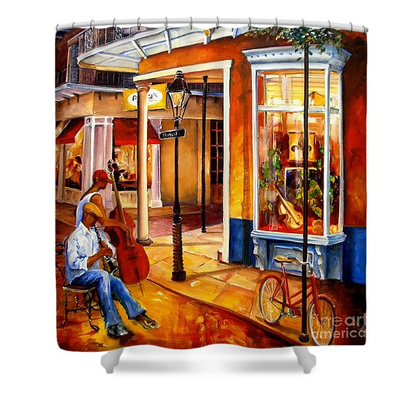 Jazz On Royal Street Shower Curtain
