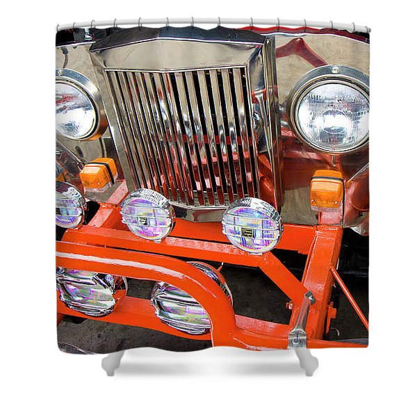 Jeep Shower Curtain