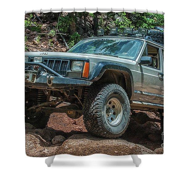 Jeep Cherokee Shower Curtain