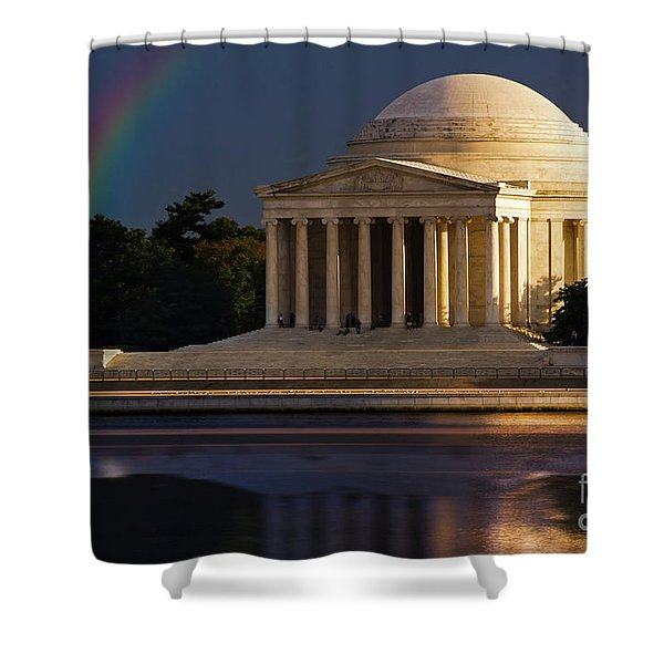 Jefferson Memorial Shower Curtain