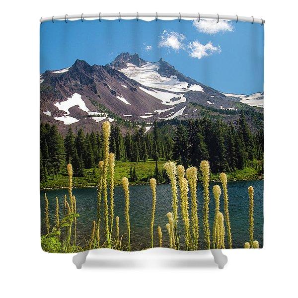 Jefferson Park Shower Curtain