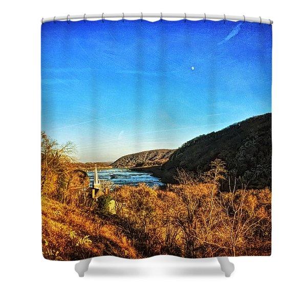 Jefferson Rock Shower Curtain