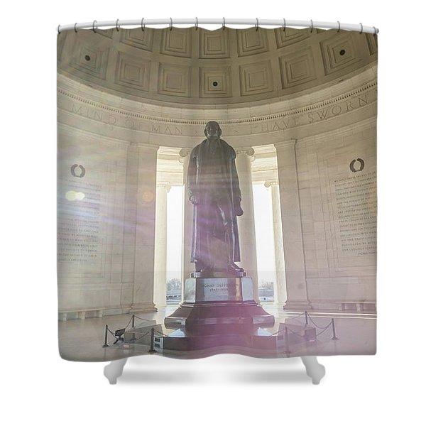 Jefferson Sunlight Shower Curtain