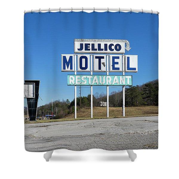 Jellico Motel Shower Curtain