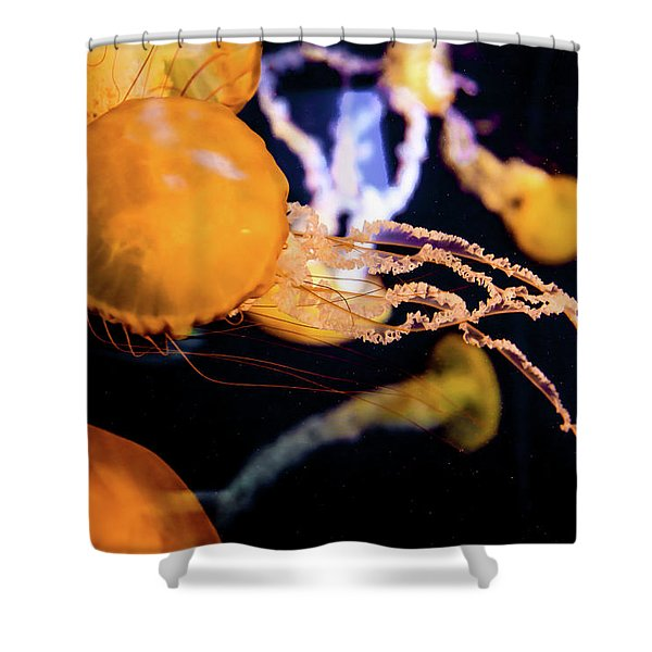 Jelly Storm Shower Curtain