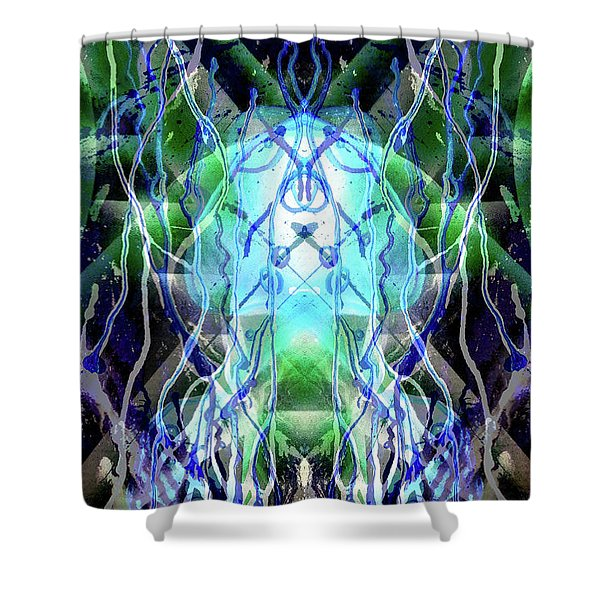 Jelly Weed Collective Shower Curtain