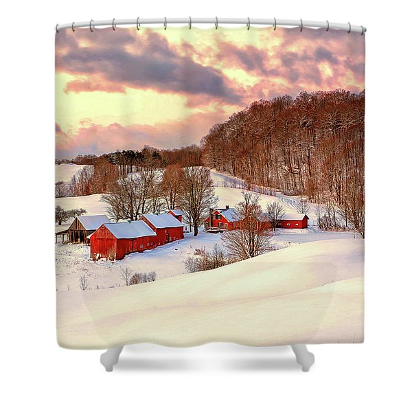 Jenne Farm After The Storm Shower Curtain