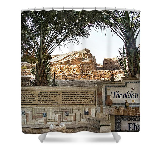 Shower Curtain featuring the photograph Jerico by Mae Wertz