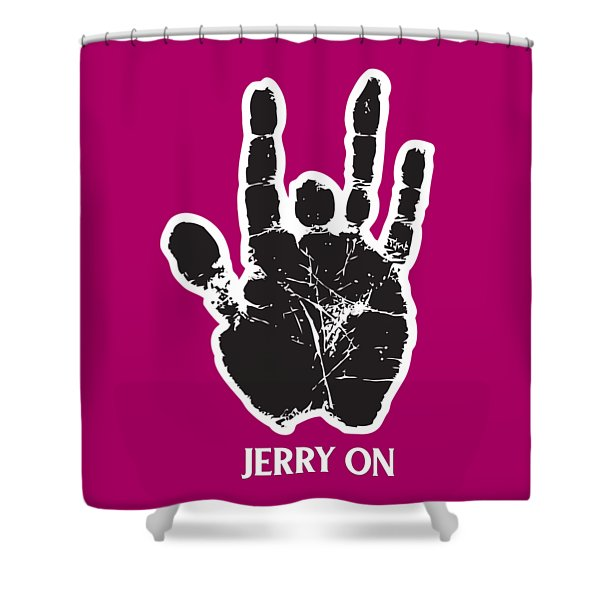 Jerry On Shower Curtain