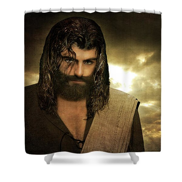 Jesus Christ- Will You Hear Me Shout Come Up Shower Curtain