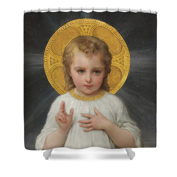 Jesus Shower Curtain
