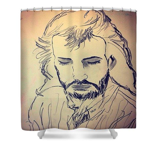 Jesus Life Shower Curtain