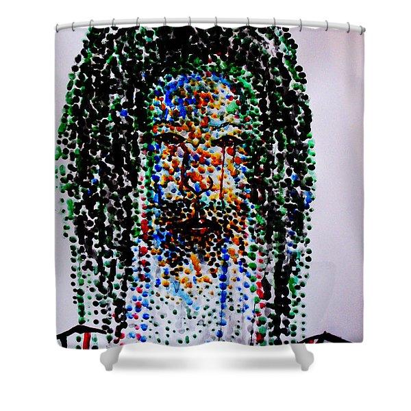 Jesus Lion Of Judah Shower Curtain