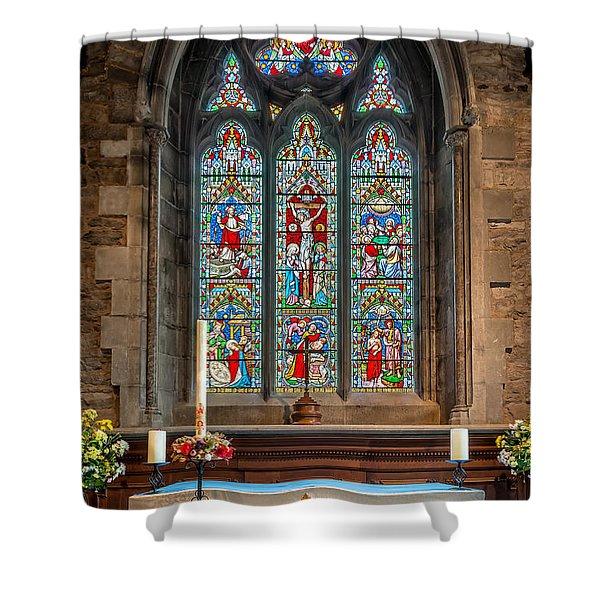 Jesus Of Nazareth Shower Curtain