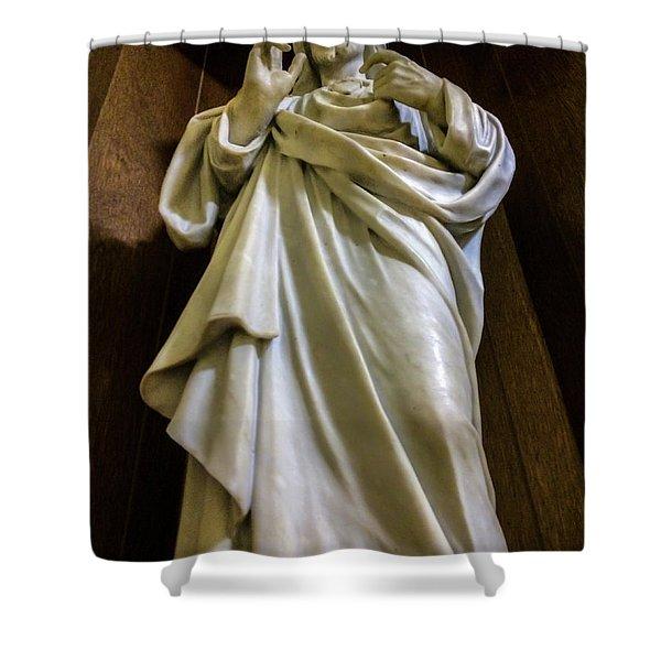 Jesus - Son Of God Shower Curtain
