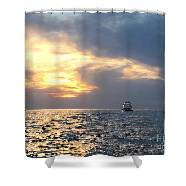 Watching Over The Inlet Shower Curtain