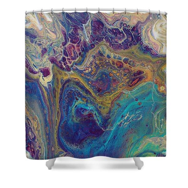 Jewel Case Shower Curtain