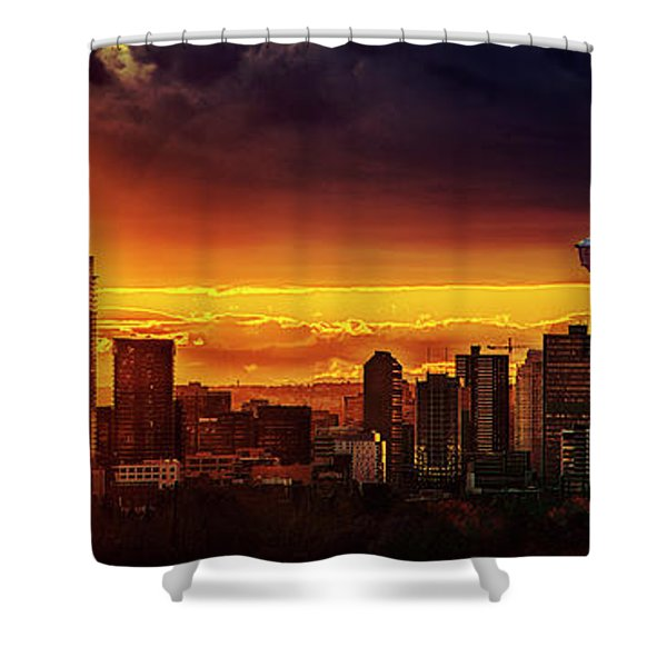 Jewel Of The Foothills Shower Curtain