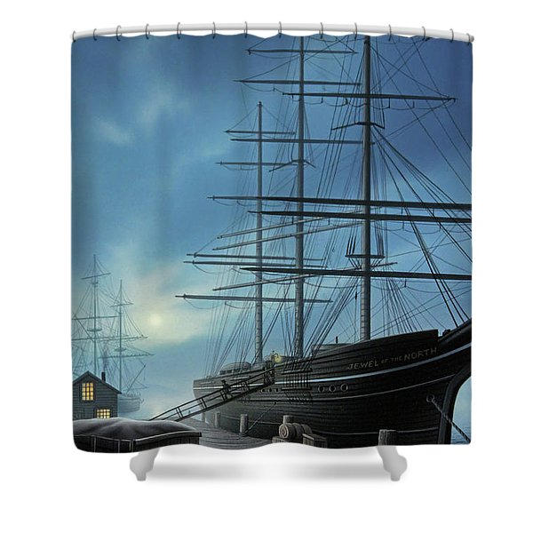 Jewel Of The North Shower Curtain