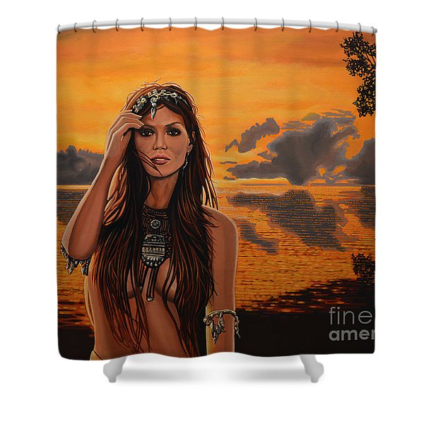 Jewels Of Costa Rica Shower Curtain