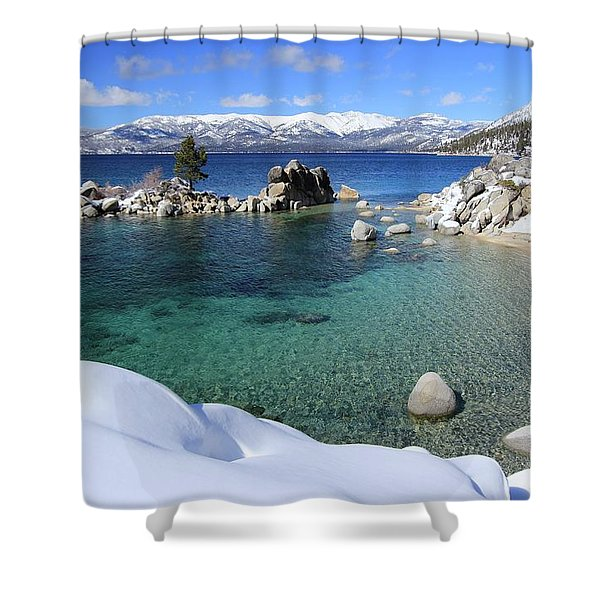 Jewels Of Winter Shower Curtain