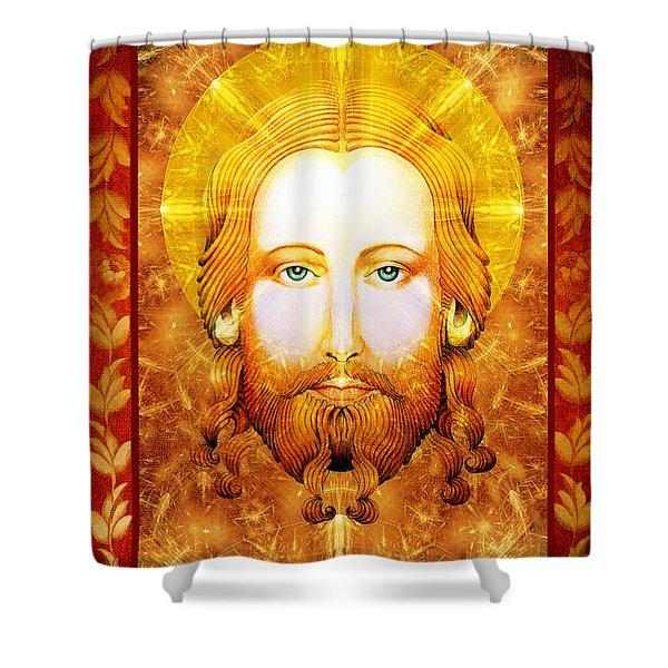 Jezus  Shower Curtain