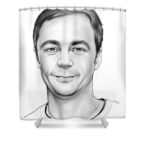 Jim Parsons Shower Curtain