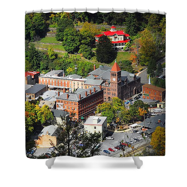 Jim Thorpe Pa Shower Curtain