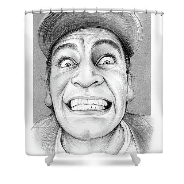 Jim Varney Shower Curtain
