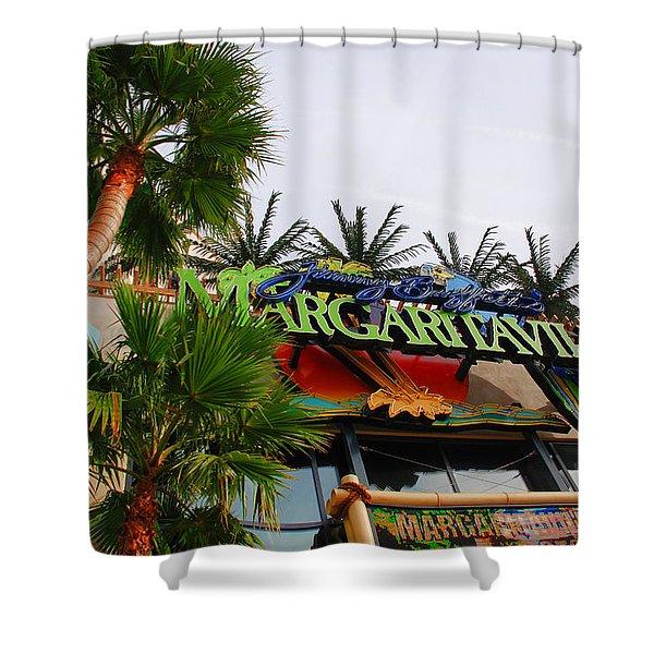 Jimmy Buffets Margaritaville In Las Vegas Shower Curtain