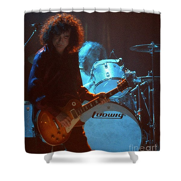 Jimmy Page-0010 Shower Curtain