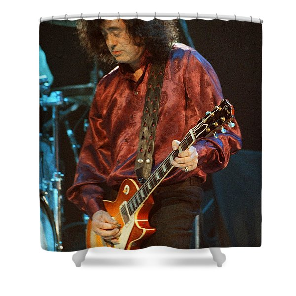 Jimmy Page-0020 Shower Curtain