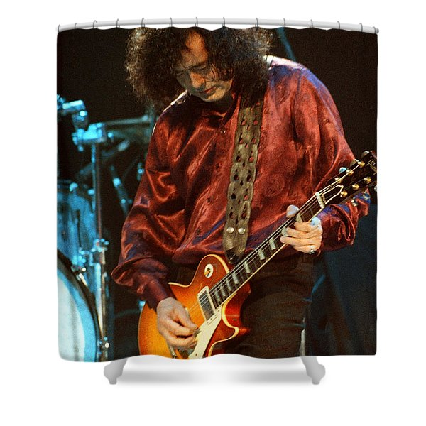 Jimmy Page-0021 Shower Curtain