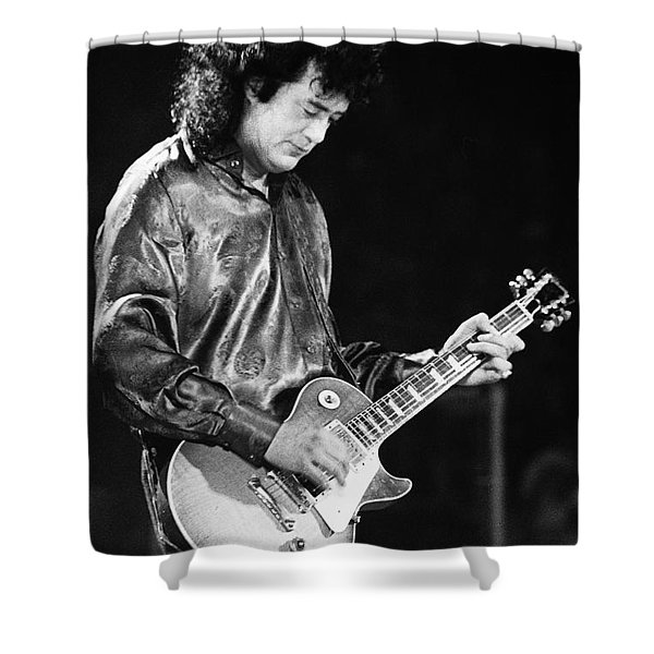 Jimmy Page-0023 Shower Curtain