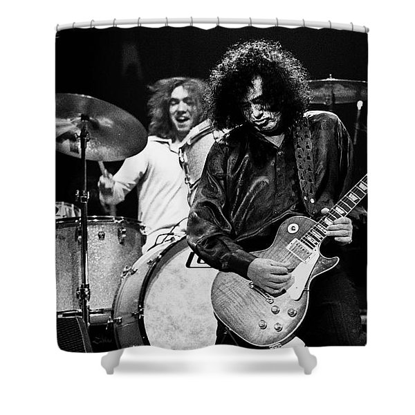 Jimmy Page-0057 Shower Curtain