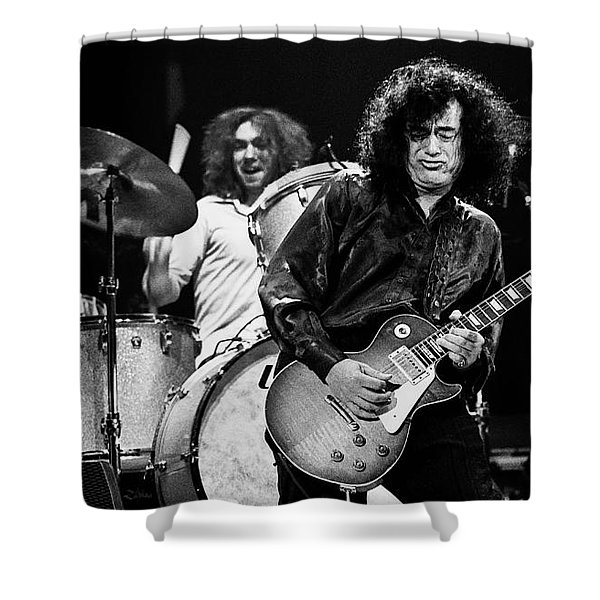 Jimmy Page-0058 Shower Curtain