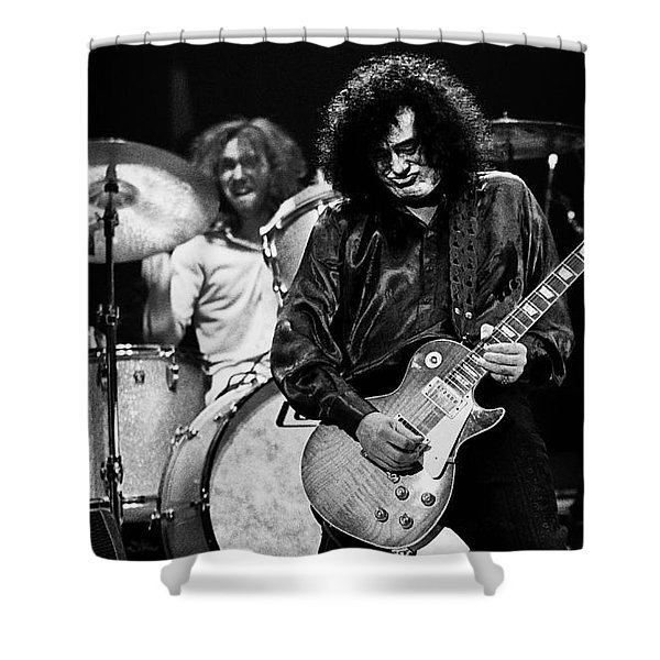Jimmy Page-0061 Shower Curtain