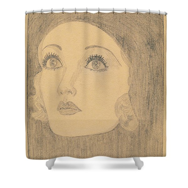 Joanne Bennett  Shower Curtain