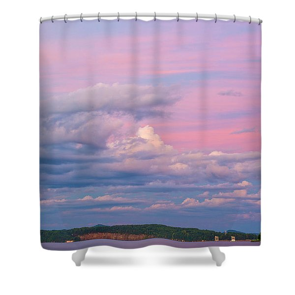 Jocassee 3 Shower Curtain