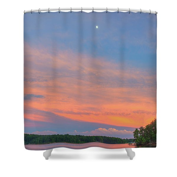 Jocassee 5 Shower Curtain