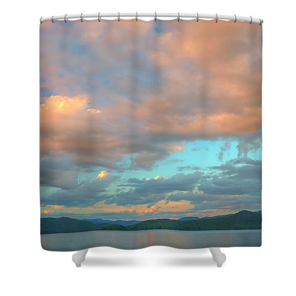 Jocassee 7 Shower Curtain