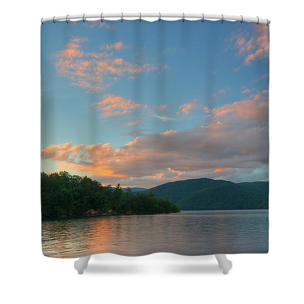 Jocassee 8 Shower Curtain