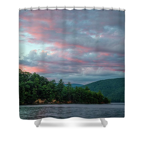Jocassee 9 Shower Curtain