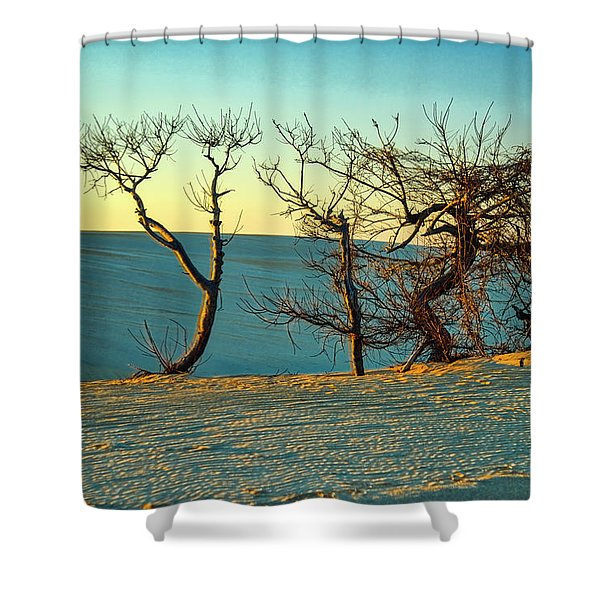 Jockey Ridge Sentinels Shower Curtain